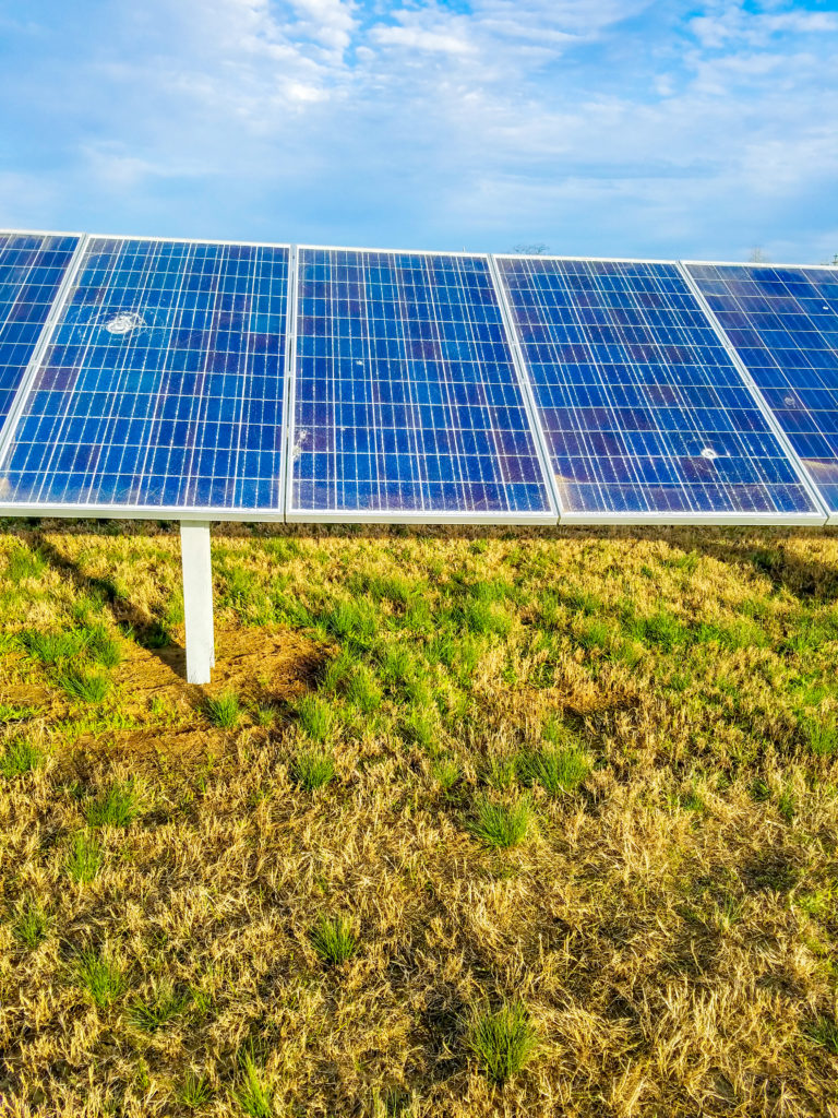 Mid South Synergy Solar Panels Vandalized Midsouth Synergy